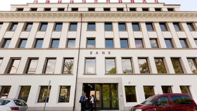 Aussenaufnahme Hauptsitz Olten Alternative Bank Schweiz.