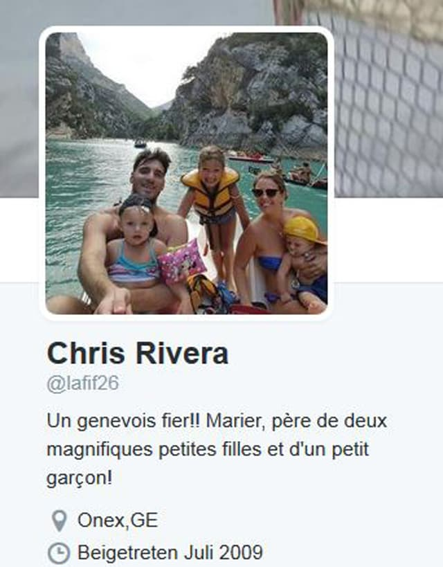 Riveras Twitter-Account