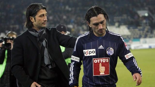 Murat (l.) und Hakan Yakin