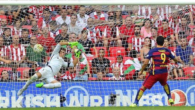 Suaraz trifft gegen Bilbao