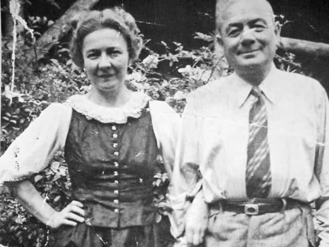 Das Ehepaar Josef und Antonie Brüll, 1938.