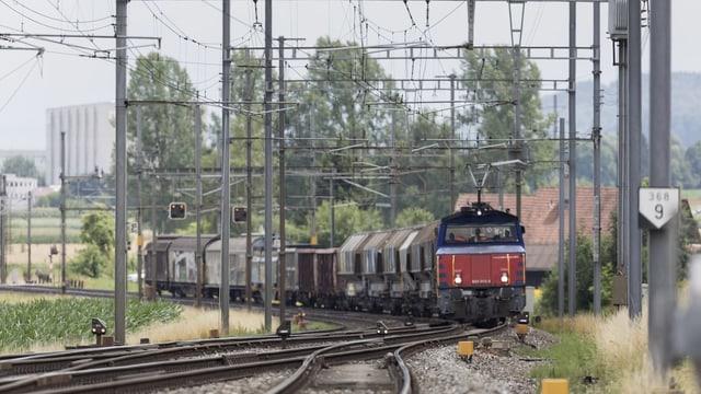 Tren da vitgira da Cargo Suisse