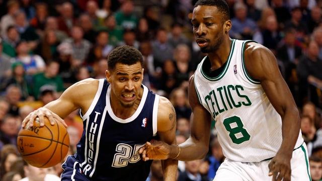 Thabo Sefolosha und Co. hatten mit den Boston Celtics keine Mühe.