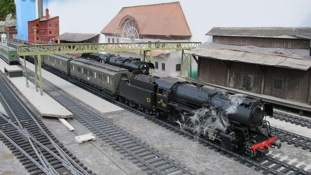 Modell-Bahnhof
