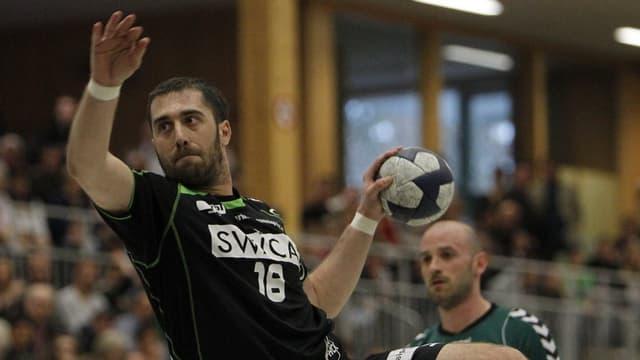 Der Krienser Handballer Boris Stankovic im März 2012.