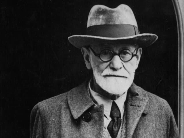 Porträt von Sigmund Freud.
