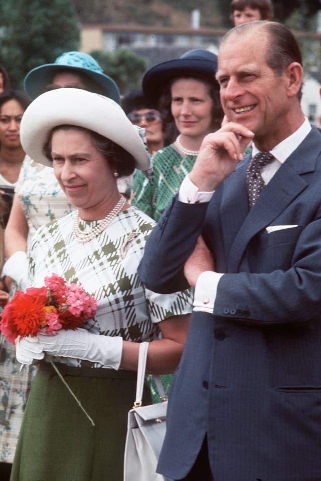 Queen Elisabeth und Philip