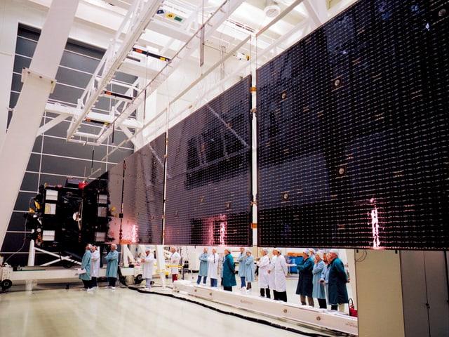 Überwachungsraum der ESA