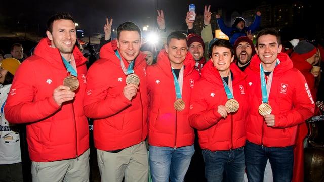 Equipa da Genevra.