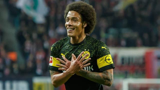 Dortmunds Aksel Witsel jubelt