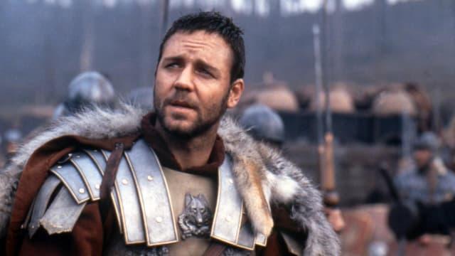 Russell Crowe im Film Gladiator.