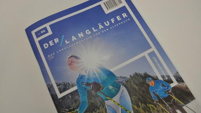"L'emprima ediziun dal ""Der Langläufer"""