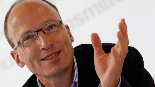 Der Direktor von Antidoping Schweiz, Matthias Kamber.