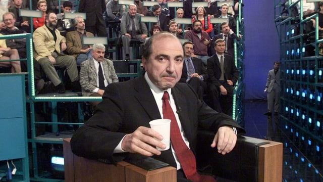 Russischer Milliardär Boris  Beresowski.