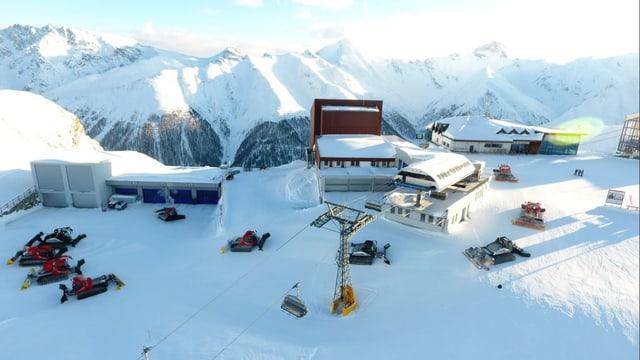 regiun da skis cun staziun
