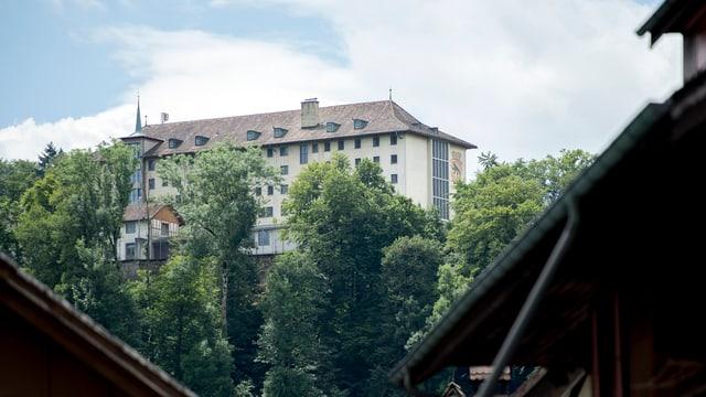 Blick auf das Gefängnis Thorberg.