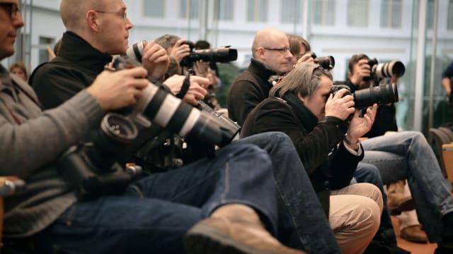 Die meisten Profis fotografieren heute digital.