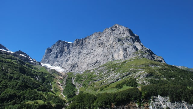 Felswand am Titlis