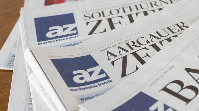 Purtret da gasettas da AZ Medien.