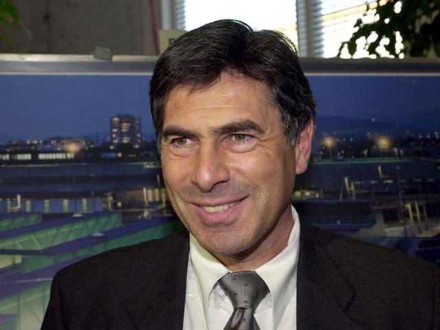 Portrait von Christoph Eymann aus dem Jahr 2000