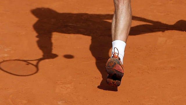 Stanislas Wawrinka bei den French Open 2013.