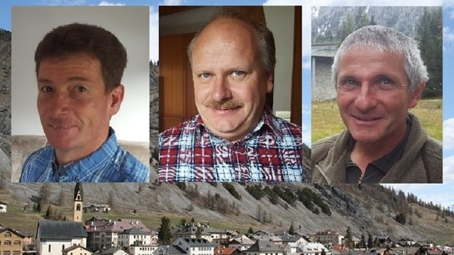 Peter Angelini, Gian Andrea Bott e Gian Fadri Largiadèr
