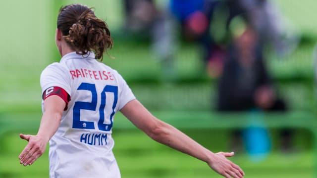 FCZ-Captain Fabienne Humm.