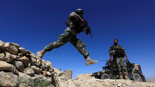 Übergriffe durch irreguläre Milizen