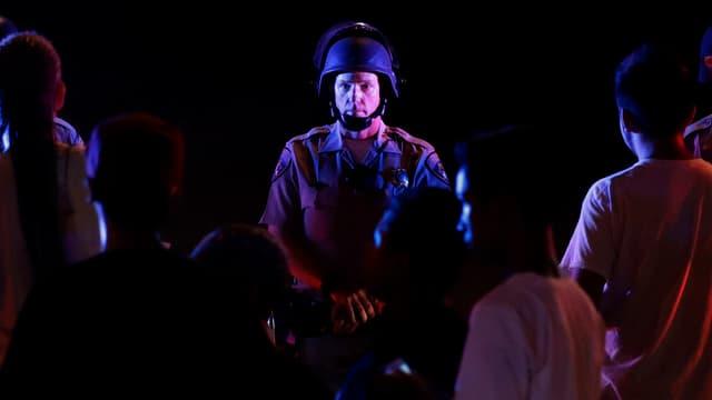 En ils Stadis Unids tema la polizia ussa ch'i pudess puspè dar protestas.