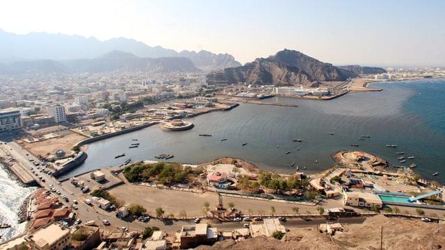 Das Bild zeigt die Stadt 2010, vor Kriegsausbruch.
