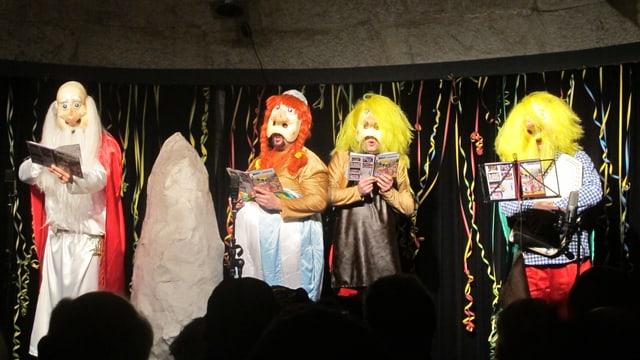 Die «Ambassadore Bäse» während ihrem Auftritt im Kulturm.
