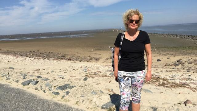 Legende Tanja Schlampp von der Initiative Wattenmeer-Schutz.