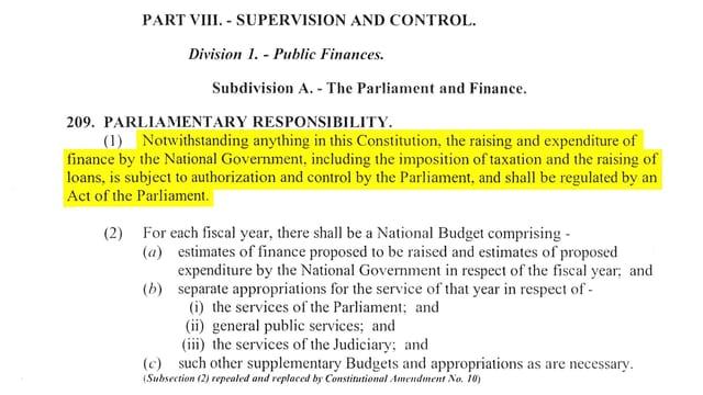 Auszug Verfassung Papua-Neuguinea