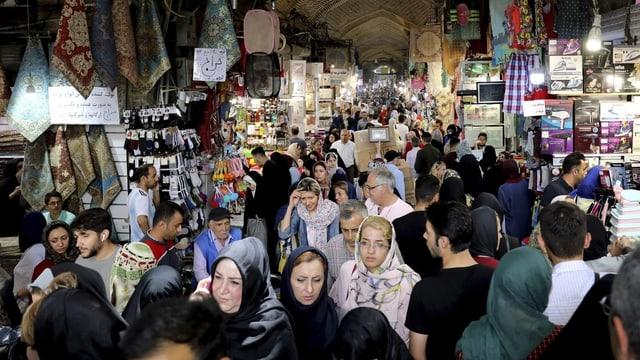 Markt im iran.