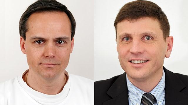 PD Dr. Guido F. Laube und PD Dr. Franz Immer