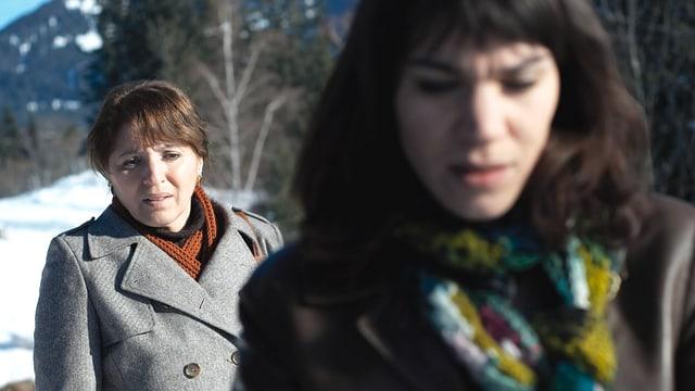 Mirjana Karanovic als Ruza und Marija Skaricic als Ana im Film «Das Fräulein».