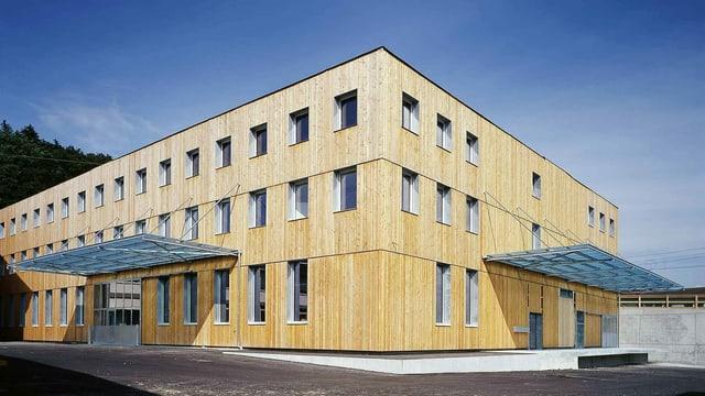 Fabrikgebäude der Röthlisberger AG in Gümligen/BE.