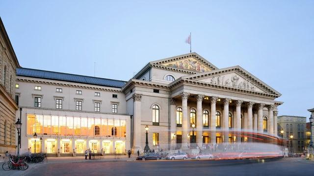 Blick auf die Bayerische Staatsoper