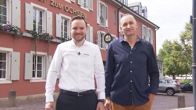 Video «Basel-Stadt und Landschaft – Tag 1 – Gasthof Ochsen, Arlesheim» abspielen