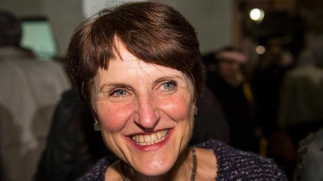 Porträt der Berner Gemeinderätin Franziska Teuscher
