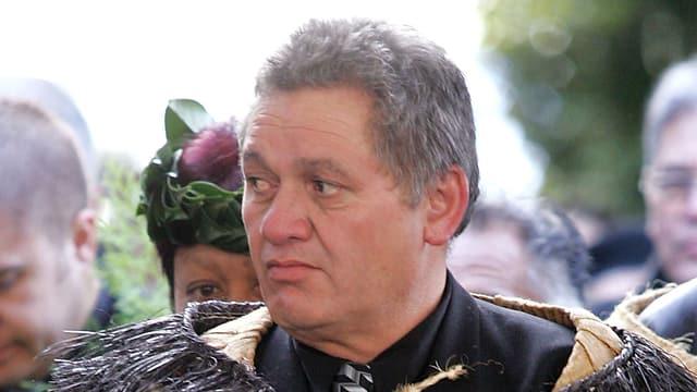 Tuheitia Paki, König der Maori