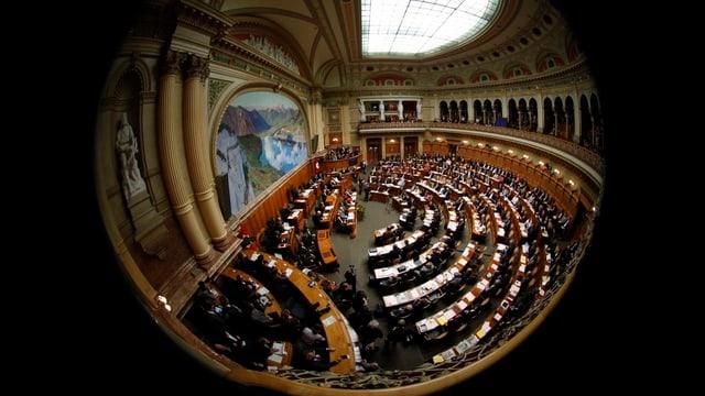 Überblick über den Nationalratssaal