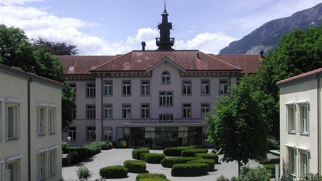 La clinica Waldhaus a Cuira