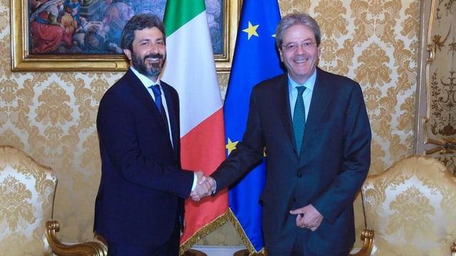 Fico und Gentiloni