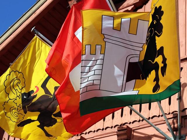 Fahnen von Schaffhausen.