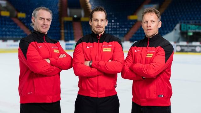 Felix Hollenstein, Patrick Fischer e Reto von Arx