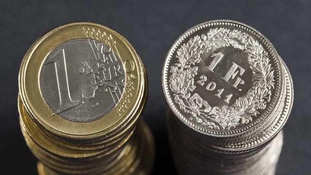 mantun euros e mantun francs.