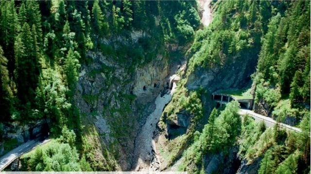 L'emprima siglientada per il tunnel Alpetta tranter Samignun e Vinadi