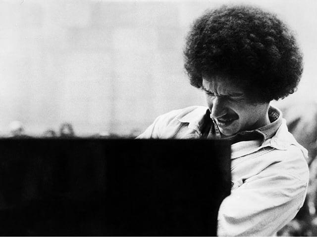 Keith Jarrett am Klavier.