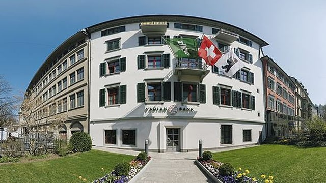 Die Vadian Bank in St. Gallen.